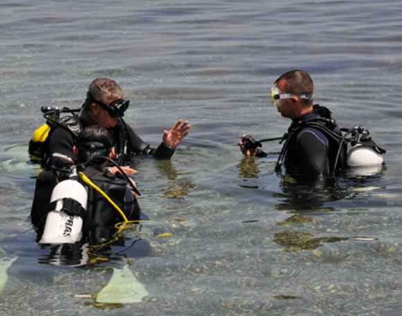 Водолазен курс Open Water Dive