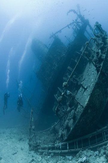 гмуркане до потънали кораби